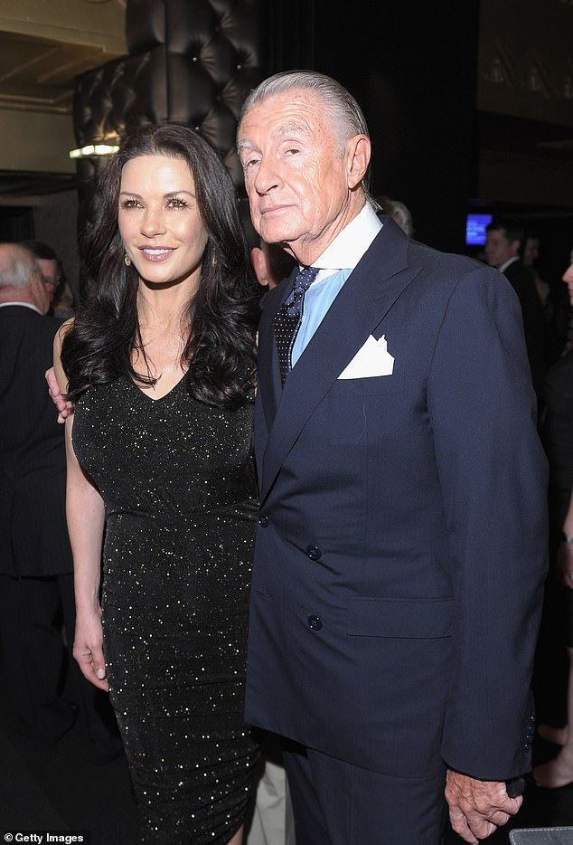 Devastated:Catherine Zeta-Jones also shared her sadness following Joel's passing. 'I adored Joel Schumacher and I am saddened by his passing today. I so wish that I could have worked with him, but to know him was to love him. Rest In Peace Joel,' she penned
