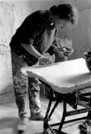 Rachel Whiteread during her time at the Slade School of Art.