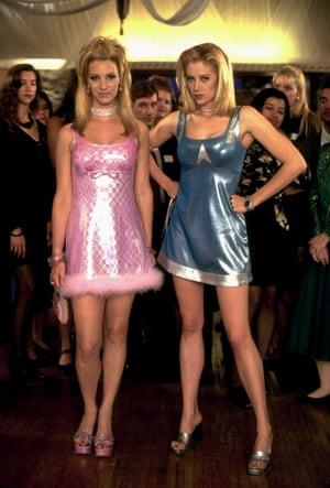 Lisa Kudrow and Mira Sorvino in 1997's Romy & Michelle's High School Reunion