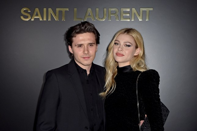Brooklyn Beckham and Nicola Peltz attend Saint Laurent : Photocall - Paris Fashion Week Womenswear Fall/Winter 2020/2021