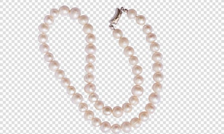 Close-Up of bead necklace