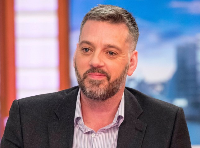 Editorial use only Mandatory Credit: Photo by Ken McKay/ITV/REX/Shutterstock (9477877ca) Iain Lee 'Good Morning Britain' TV show, London, UK - 26 Mar 2018