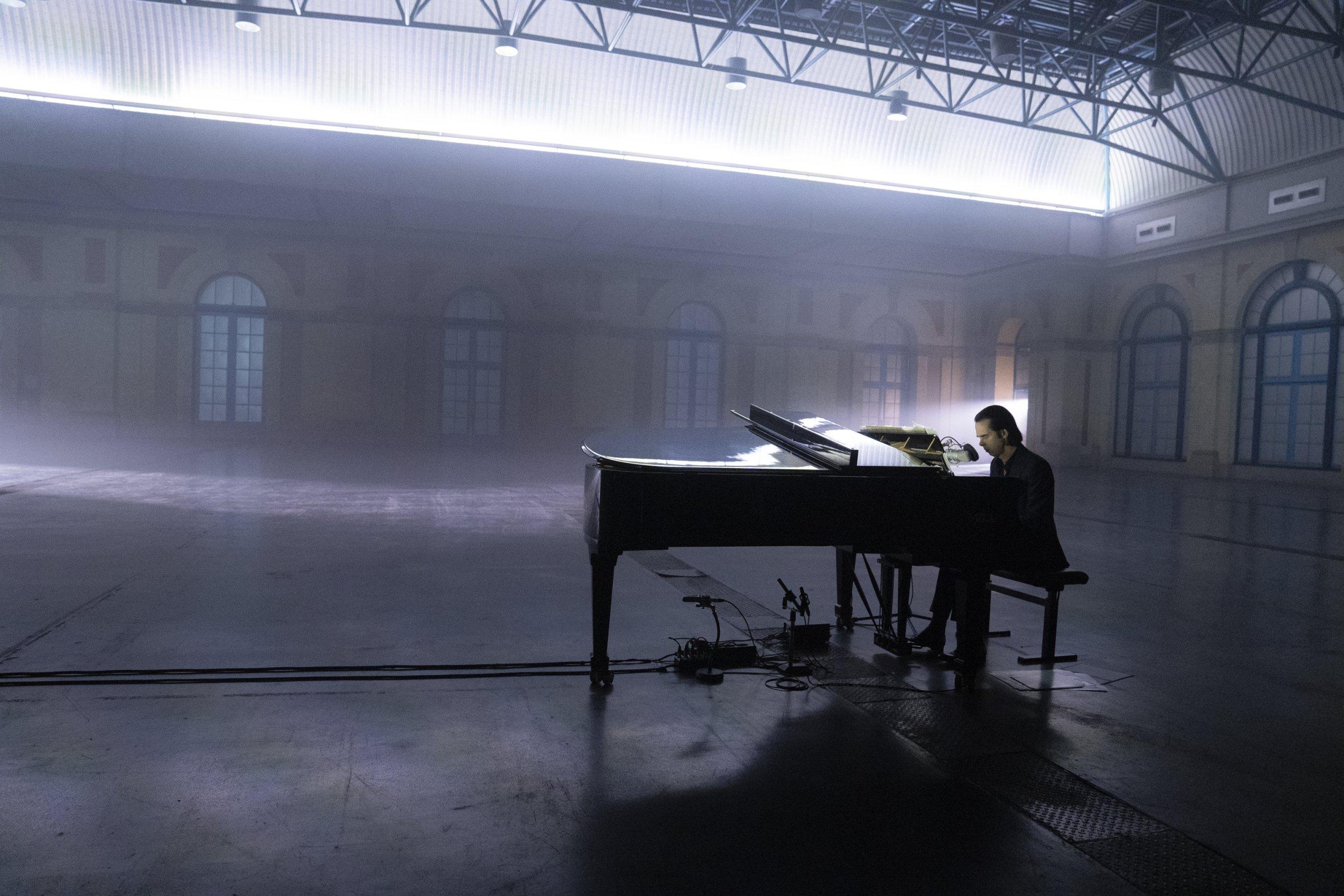 Nick Cave Alone at Alexandra Palace Credit: Joel Ryan Provided by suzi.goodrich@googlemail.com