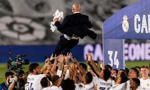 Zinedine Zidane led Real Madrid to the title in style.
