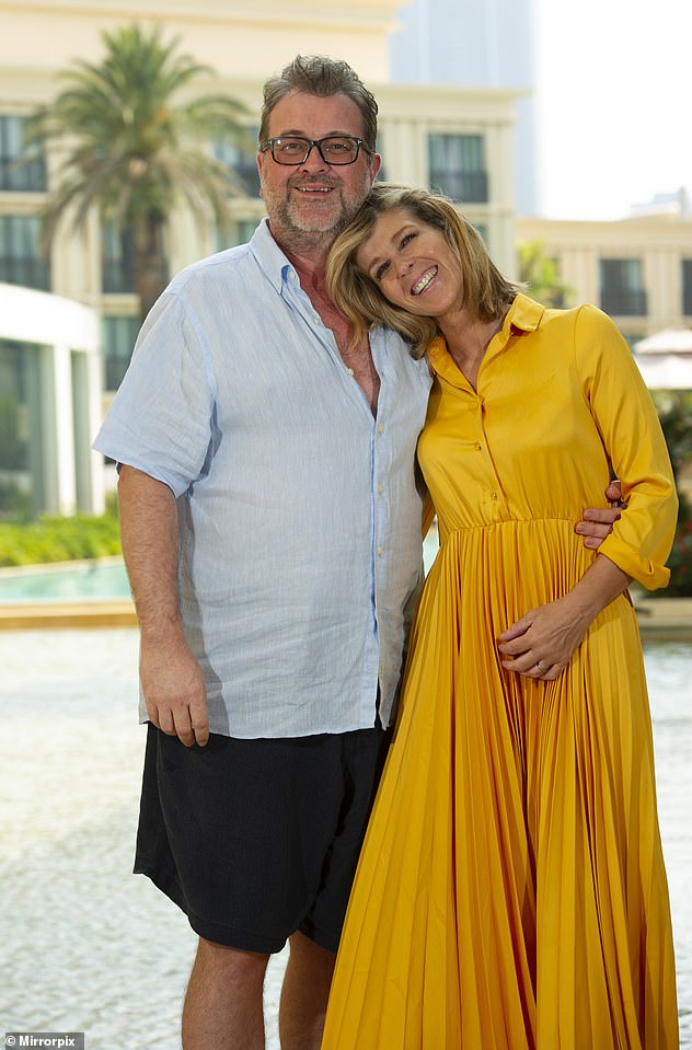 Well-wishes: Kate Garraway has made an appearance on social media - having been noticeably absent while her husband Derek Draper battles COVID-19