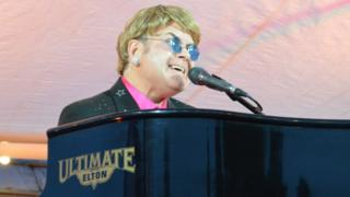 Ultimate Elton at Hale Barns Carnival