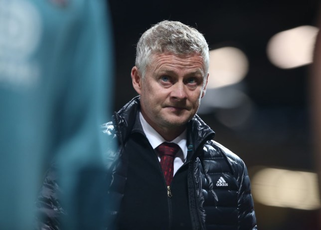 Ole Gunnar Solskjaer looks on during Manchester United's Premier League clash with Southampton