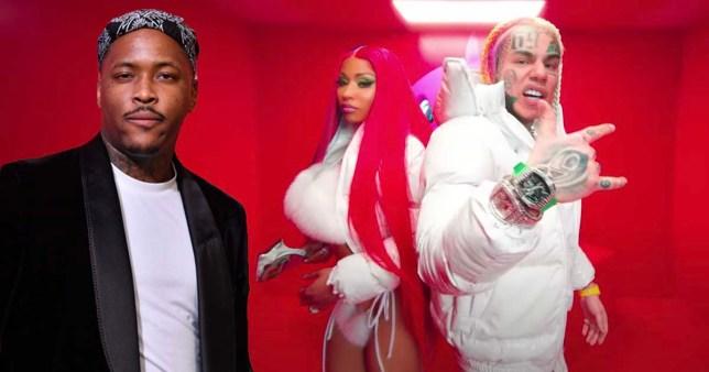 YG, Tekashi 6ix9ine and Nicki Minaj
