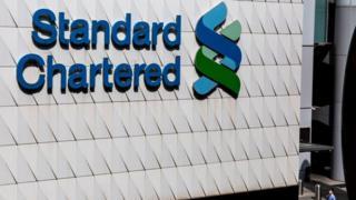 UK-based bank Standard Chartered has seen its profits slump.