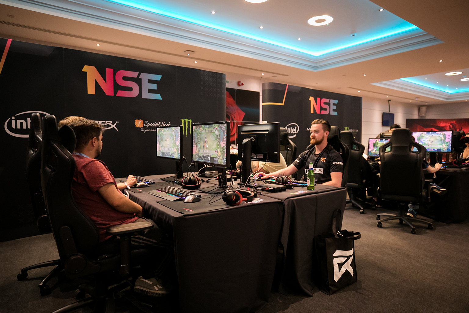 NSE launched an activation at last year's UKLC Summer Finals. Photo credit: Joe Brady/LVP