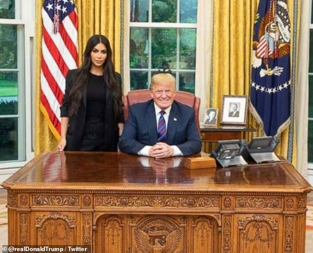 Kim first paid a visit to the Oval Office in May 2018