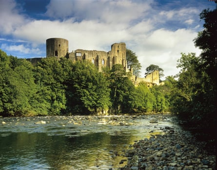 Barnard castle in County Durham