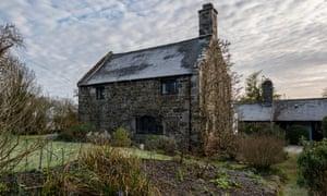 'A remote wisteria-clad 15th-century cottage': Cymryd, Conwy.