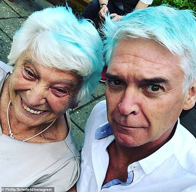 Hard: The presenter also revealed his mum Pat still struggles with loneliness, but 'surrounds herself with family,' when lockdown permits it