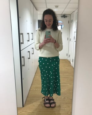 Niamh Egleston … 'The thought of skinny jeans makes me ill.'
