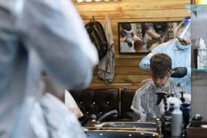 Sirwan's Barbers in Brixton