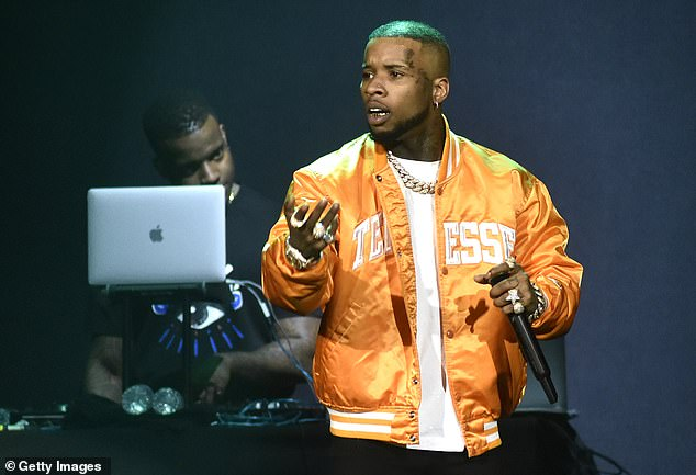 The latest:Rapper Tory Lanez, 27, was arrested after police officers found a gun in his vehicle following a reported fight outside of a Hollywood Hills house party early Sunday.