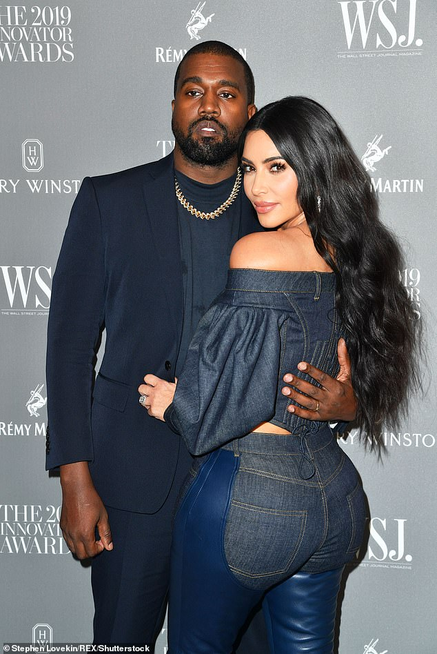 Reality star-turned-activist Kim Kardashian West would be no stranger to the White House, having met with President Trump on more than one occasion lobbying for criminal justice reform. Kim is pictured with husband Kanye in November 2019