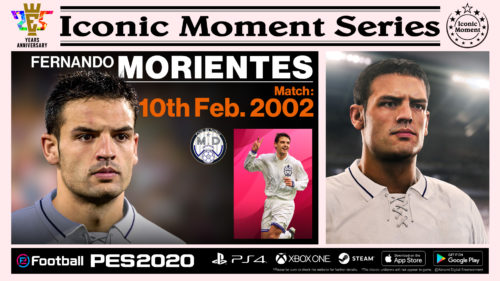 morientes pes 2020 iconic moment series