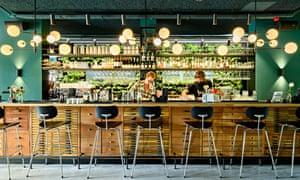 Bar Kantoor, at the Conscious Hotel