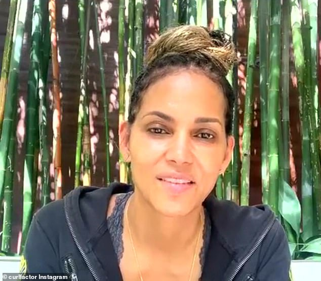 Backlash:Halle Berry was the target of online outrage over the weekend, after revealing on Instagram Live that she 'might' be playing the role of a transgender male in an upcoming film