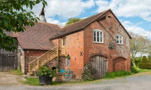 'A bucolic spot surrounded by orchards': Wall End Farm, Herefordshire.