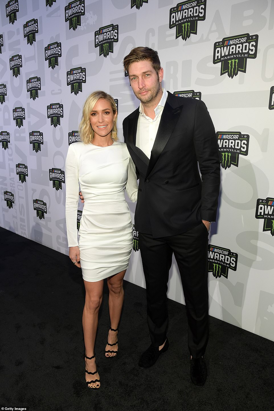 Former flames: The 32-year-old reality star and 37-year-old former NFL star - who announced their divorce back in April - originally listed the property which served as a second residence for them in 2018, as the couple are seen together in November