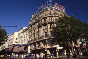The Tati store on the corner of boulevard Barbès and rue Rochechouart in Paris