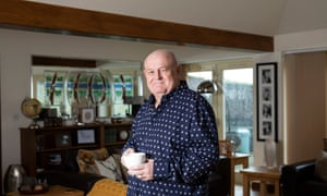 John Woodward, founder of Busy Bees nurseries, at his home in Staffordshire.