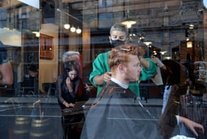 Will at Man Cave Barber in Stoke Newington