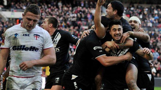 New Zealand beat England in 2013