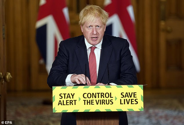 Prime Minister Boris Johnson said in a speech today that the UK Government was hoping to return the country to something like normality'possibly in time for Christmas'