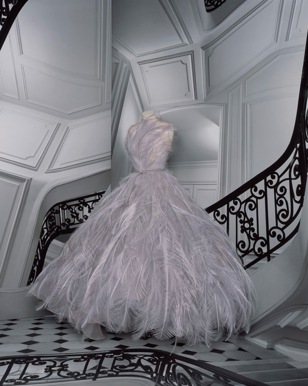 Dior showcases fantasy and miniatures for haute couture
