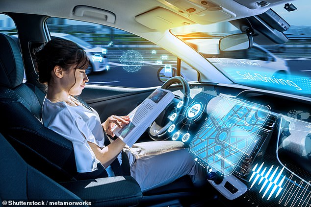 Everything that moves will be 'self-driving' in the future, including cars, trucks, boats and drones working together in a global 'ballet of movement'. Stock image
