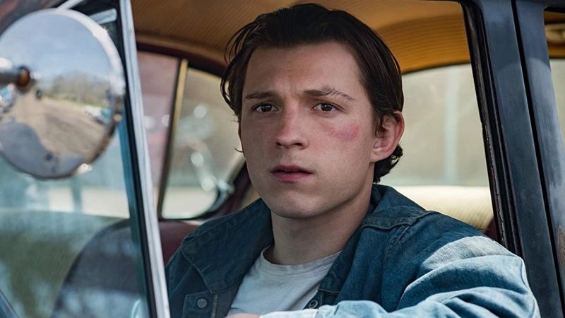 Tom Holland in new Netflix movie The Devil All the Time