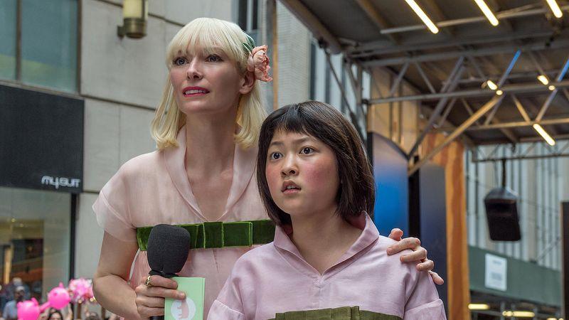 A still from Netflix's Okja
