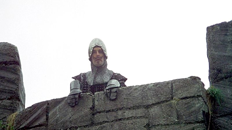 A still from Monty Python's Holy Grail
