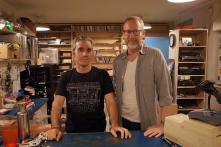 Other Music's owners, Josh Madell and Chris Vanderloo.