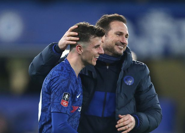Frank Lampard and Mason Mount have a great relationship