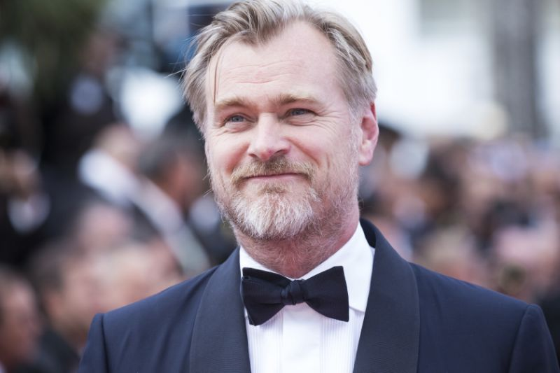 Director Christopher Nolan poses for photographers upon arrival at the premiere of the film '2001: A Space Odyssey' at the 71st international film festival, Cannes, southern France, Sunday, May 13, 2018.