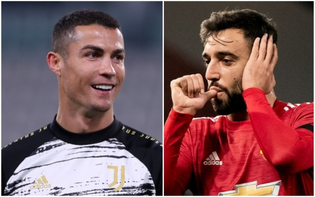 Cristiano Ronaldo has been keeping tabs on Bruno Fernandes' progress at Manchester United