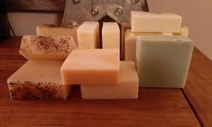 Ian Cumpson's homemade soaps