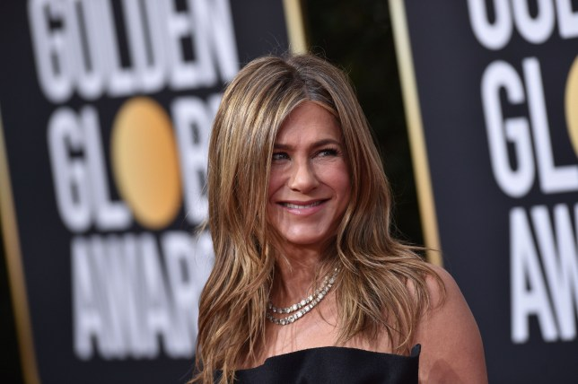 Jennifer Aniston at the 77th Annual Golden Globe Awards