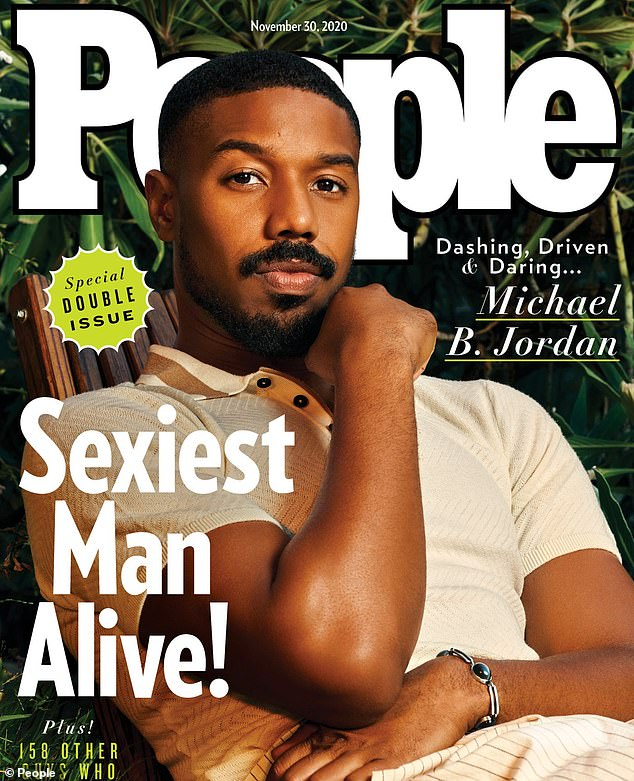Sexiest title:Michael B. Jordan was revealed to the People's Sexiest Man Alive 2020 on Tuesday after showing up on Jimmy Kimmel Live in disguise