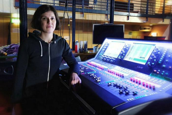 Isabella Di Biase, a sound engineer who took a temp job at Tesco after London's live music venues closed