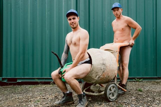 tree surgeons naked calendar