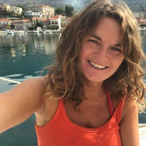 Susan Smillie in Greece.