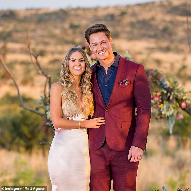 Over: In the 2019 Bachelor finale, Matt professed his love for chemical engineer Chelsie McLeod in South Africa. But their relationship didn't last. The couple confirmed their split two months after the finale airdate