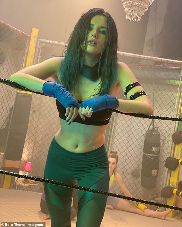 Bella is quite busy on the film front, with no less than nine titles in some form of preproduction or filming: Her movie Chick Fight opposite Malin Akerman came out this past Friday