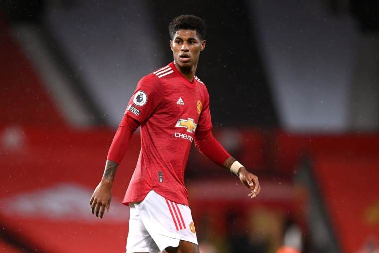 Marcus Rashford has been campaigning for months about free school meals (Photo: Michael Regan/PA )
